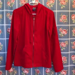 Shaver Lake zip up woman's jacket Large with hood